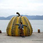 自然とアートと建築を楽しめるところ、直島へ行ってきました。